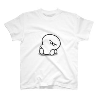「正直すぎるアザラシ」の反省してます T-shirts