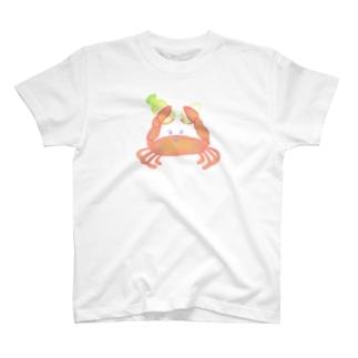 チョッキン!カニによりダイコン半分物語 T-shirts