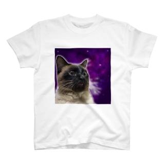 スペーシューキャット T-shirts