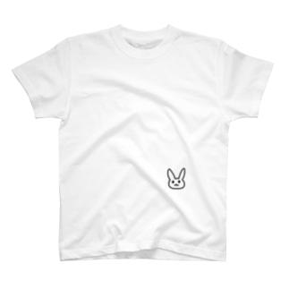 たぶんうさぎ T-shirts