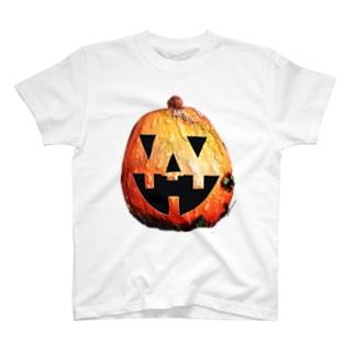 今頃ハロィンかぼちゃ T-shirts