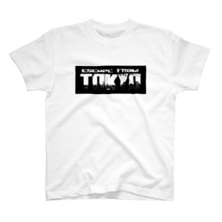 東京脱出 T-shirts