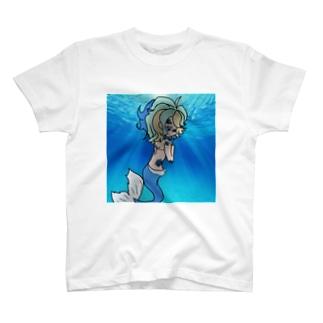 人魚ちゃん T-shirts