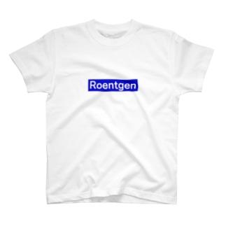 レントゲン(英)ブルー T-shirts