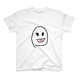 ヒトカゲのような眼差しで見てくる子供 T-shirts