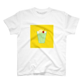 メロンソーダ T-shirts