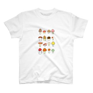 きのこきのこきのこ T-Shirt