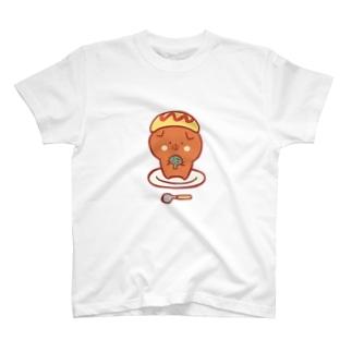スコティッシュのフォーちゃん【オムライス】 T-shirts
