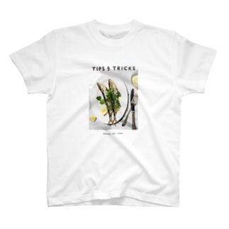 イワシのグリル香草添え T-shirts