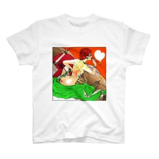 京田さんと京都タワー Tシャツ