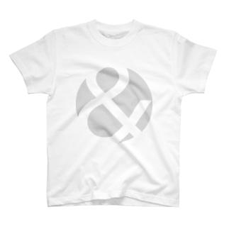 &-greyLogoMark Tシャツ