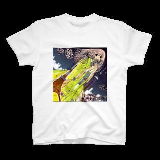 ひのもとめぐる/ひのまる航空の桜田さんと東京タワー T-shirts
