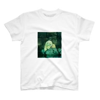物憂げなしろくま T-shirts