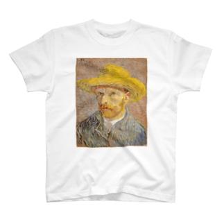 ゴッホ自画像 T-shirts