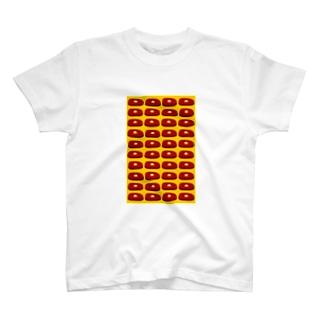 ステーキ(黄) T-shirts