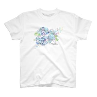 あじさい T-shirts
