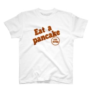 マチルダオリジナルTシャツ 茶色ロゴ T-shirts
