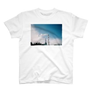 苫小牧の空 T-shirts