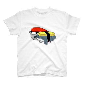 お寿司なペンちゃん2貫 T-shirts