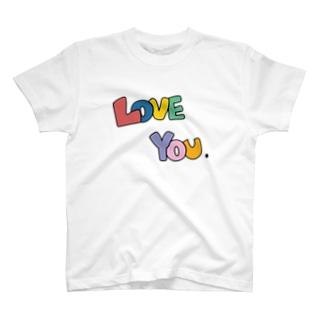 Love you T-shirts