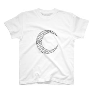 Monday モノクロ T-shirts