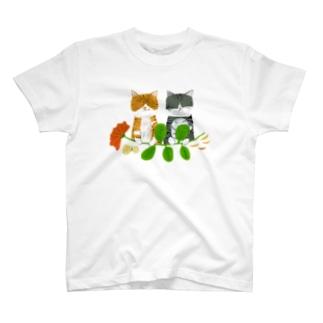 ねこねこ T-shirts