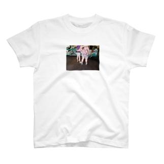 ハワイのナイスガールズちゃん T-shirts