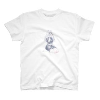 星座シリーズ・おうし座ちゃん T-shirts