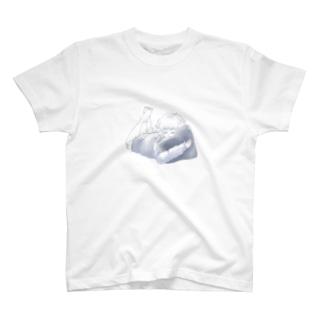 星座シリーズ・おひつじ座ちゃん T-shirts