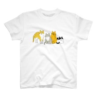 猫はみんなかわいい T-shirts