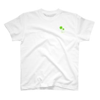 ちっちゃなクローバー T-shirts