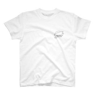 GANIMATAOJISAN ロゴ② T-shirts