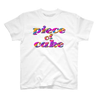 piece of cake T-shirts