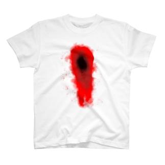 こころの空洞Tシャツ T-shirts
