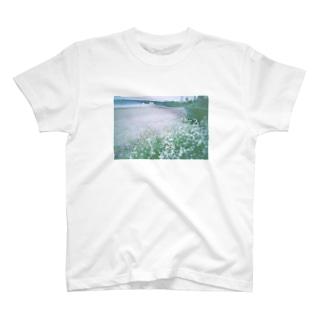 うみべのおはな T-shirts