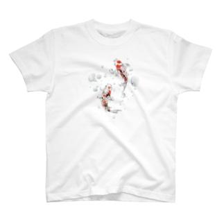 シンプルに鯉 T-shirts