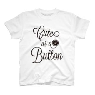 Cute as a Button T-shirts