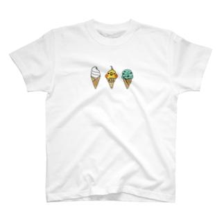 ニコアイス(オカメインコ) T-shirts