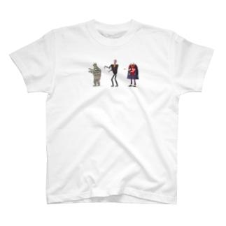 愉快な3人 T-shirts
