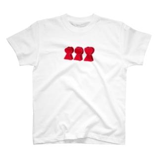 前方後♡墳 T-shirts