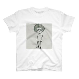 髪型じゃないよ、帽子だよ T-shirts