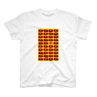 ビフテキ・まちがいさがし(黄) T-shirts