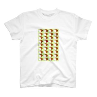 カレーライス・まちがいさがし(緑) T-shirts