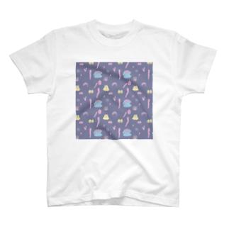 バラバラドール パープル T-shirts