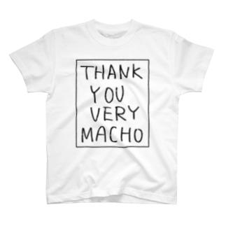 サンキューベリーマッチョ T-shirts