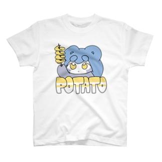 ポテトたぬT T-shirts
