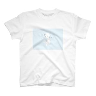 一瞬の青 T-Shirt