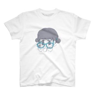 ダテメガネ T-shirts