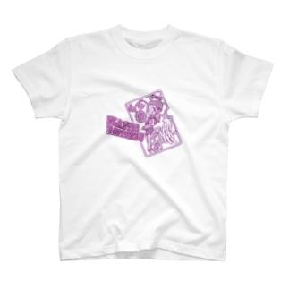 プラスチック・フォーチュン!!ピンク!!! T-shirts