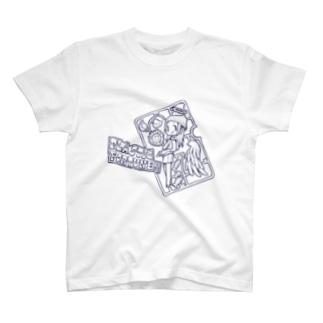 プラスチック・フォーチュン!!ブルー!!! T-shirts